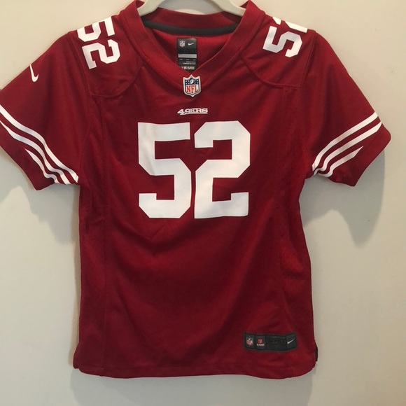 competitive price 12ef0 7b9fd Authentic Willis 49ers Jersey, number 52